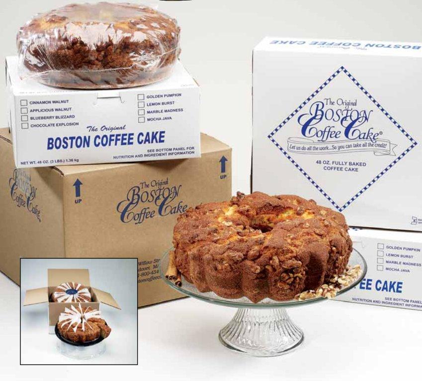 Boston Coffee Cake Blueberry Blizzard